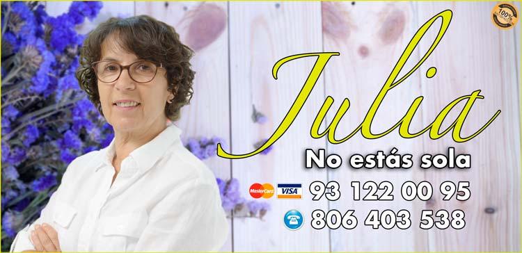 Julia - Videntes buenas en España- Videncia real